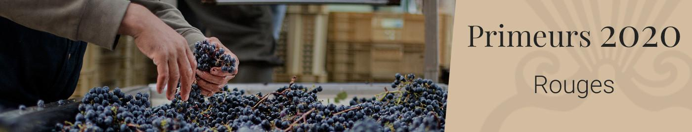 Vins de Bordeaux en Primeurs 2020  |  Vins rouges