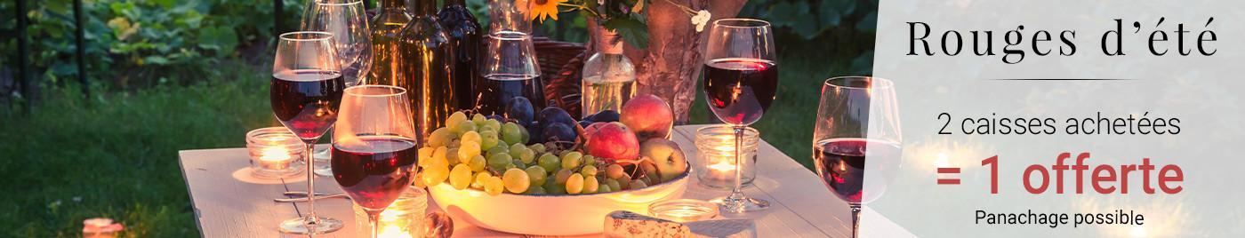 Vins Rouges d'été