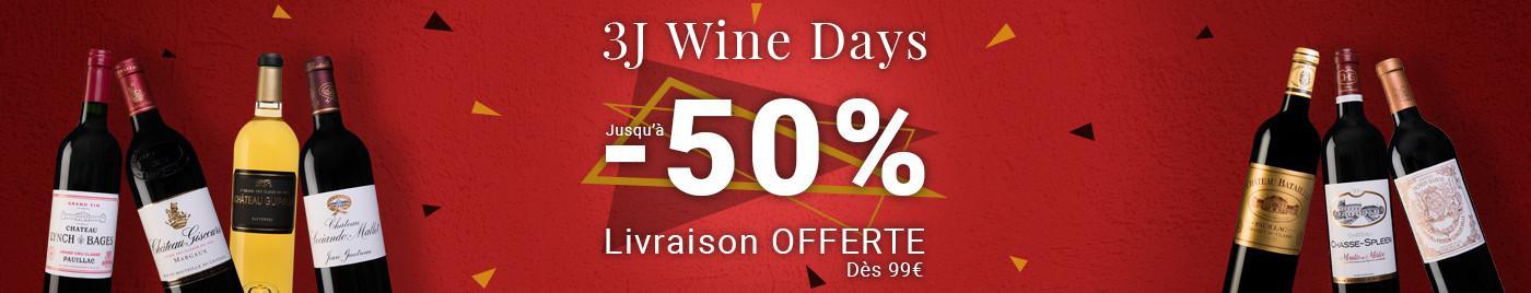 Wine Days : Les + grosses remises