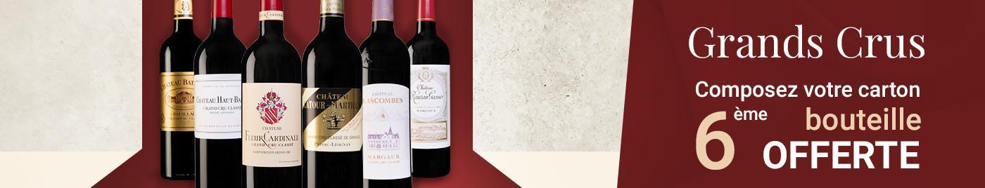 Wine Week | Grands Crus = 6ème bouteille OFFERTE au choix