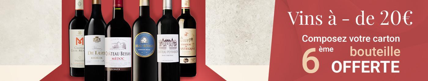 Wine Week   Sélection -20€ = 6ème bouteille OFFERTE au choix
