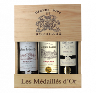 Coffret Bordeaux Médaillés d'Or 2016