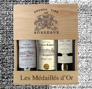Coffret Bordeaux Médaillés d'Or